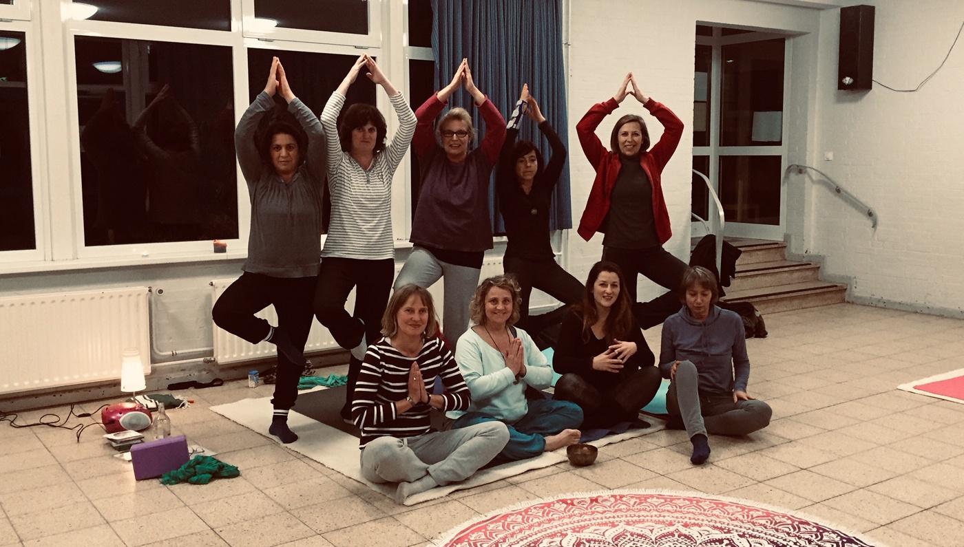 Yoga - ein Kurs ist auch für dich dabei!