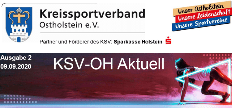 Die neue Zeitschrift vom Kreissportverband Ostholstein e.V.  ist da